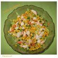 salade au crabe