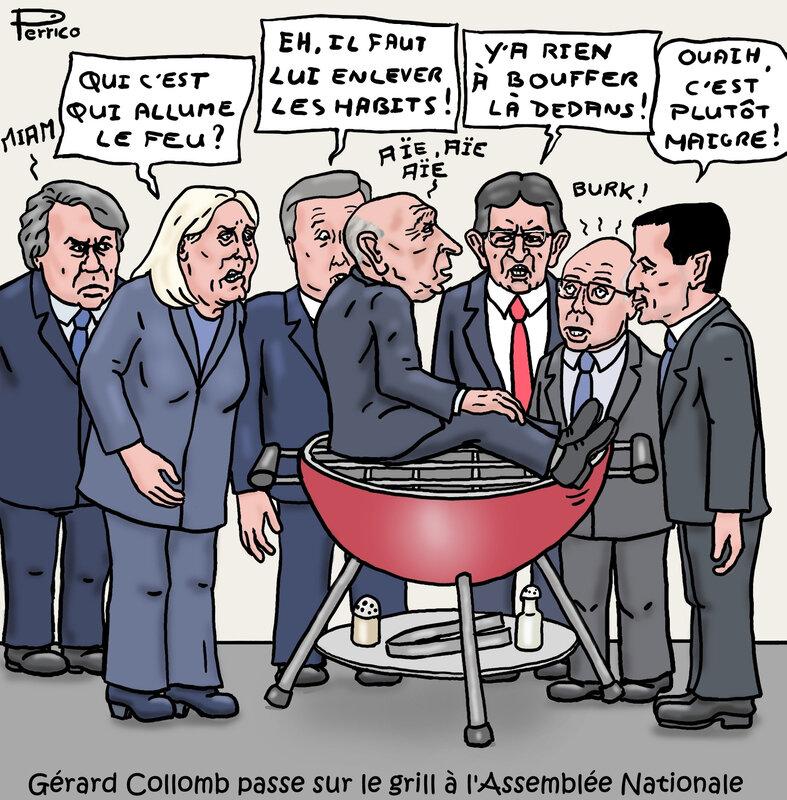 Gérard Collomb sur le grill - 24 juillet 2018