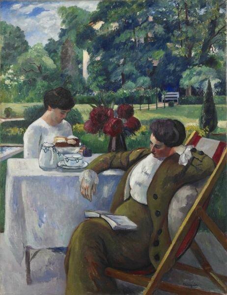 Henri Manguin (1874-1949), Le Thé à la Flora,1912