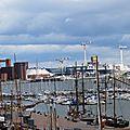 Port de plaisance et ses remarquables vieux gréements finlandais