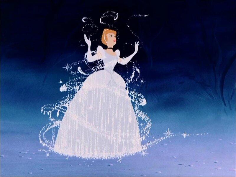La métamorphose de Cendrillon en princesse