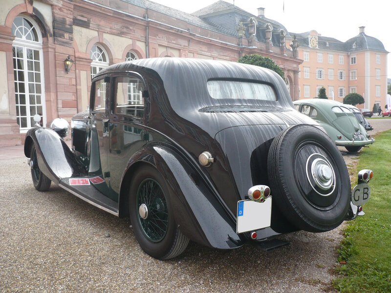 BENTLEY 4 1-4 Litre Light Sports Saloon by Park Ward 1938 Schwetzingen (2)