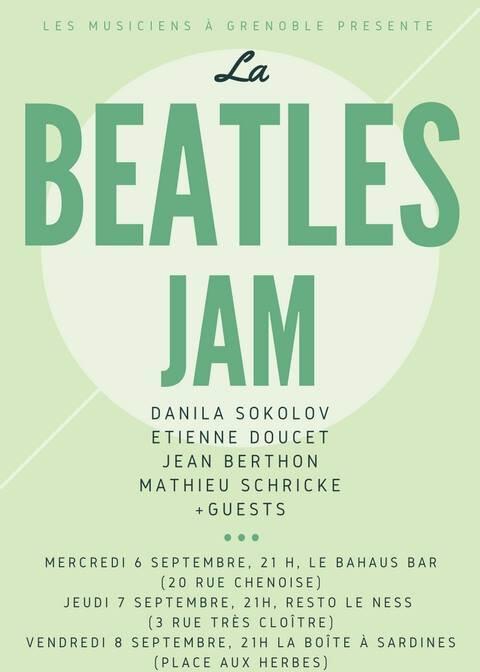 la Beatles JAM