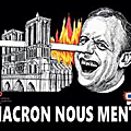 MACRON CONTINUE SA POLITIQUE DE DESTRUCTION DE LA FRANCE ET DE SON PEUPLE ... MACRON DEMISSION !