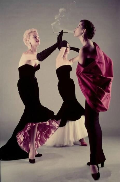 Gowns by Balenciaga, 1950s