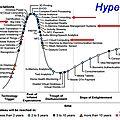 Cycle de hype, de l'espoir insensé à la maturité en passant par la désillusion