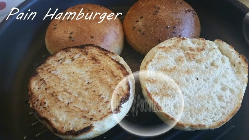 Pain Hamburger Thermomix 5