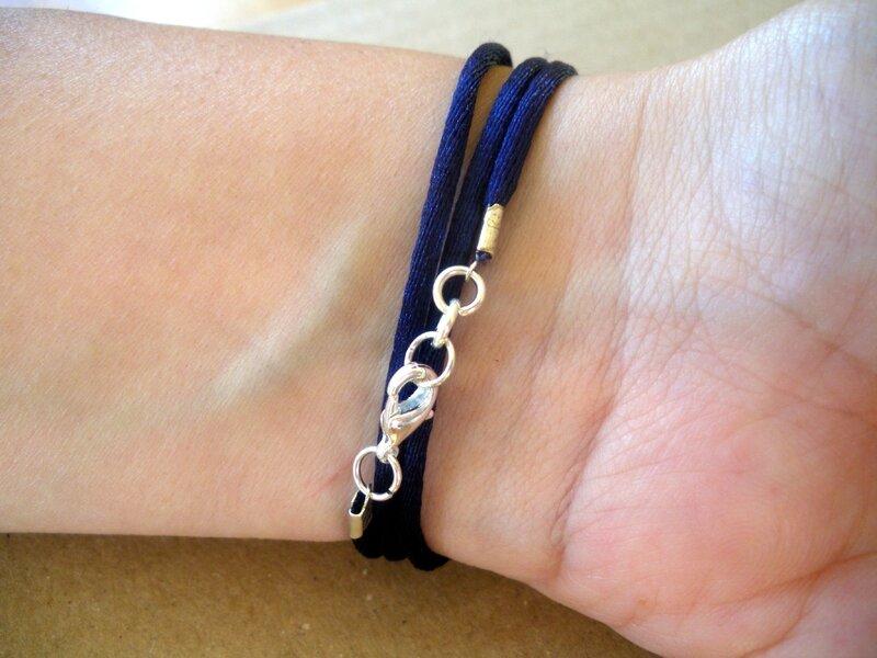 Bracelet bleu (3)