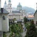 Salzburg sous la pluie