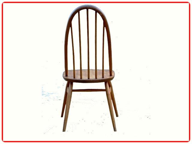 Chaises vintage Ercol 1950