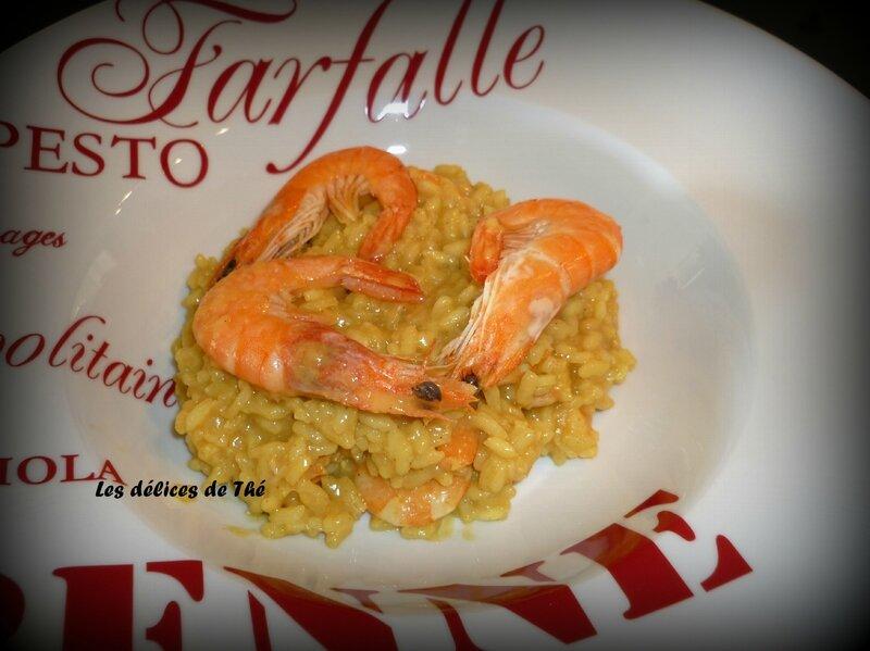Risotto curry crevettes (15) - Copie