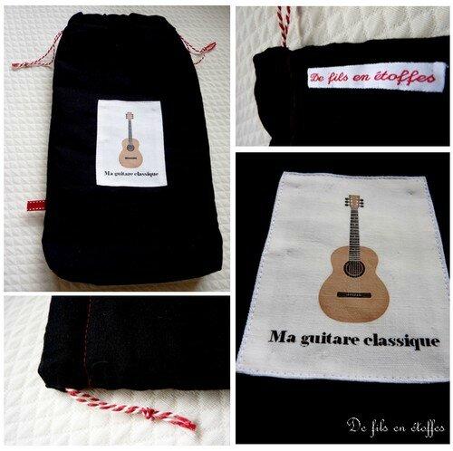pochon guitare