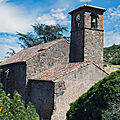 Ville rouge Thermenès église