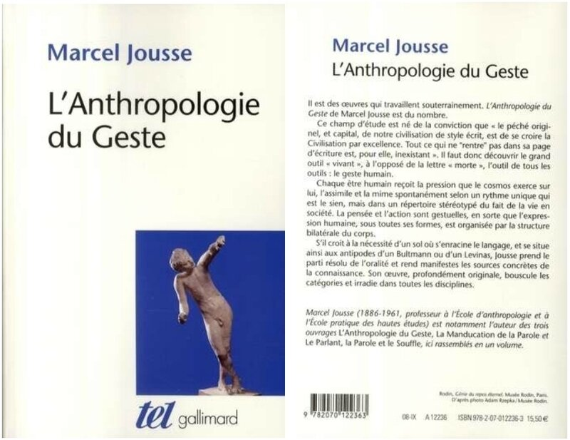 Jousse, Anthropolgie du geste, 2008