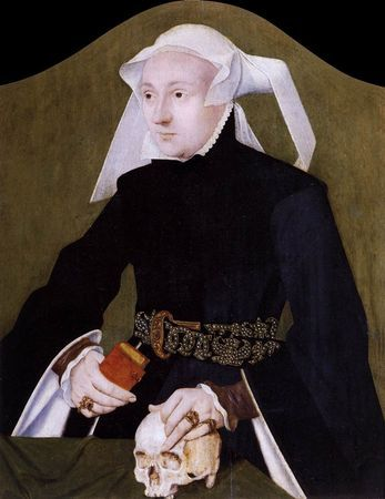 Barthel Bruyn the Elder, Portrait of a Noblewoman, 1530-35. Oil on panel, 45 x 36 cm. Museo Correr, Venice