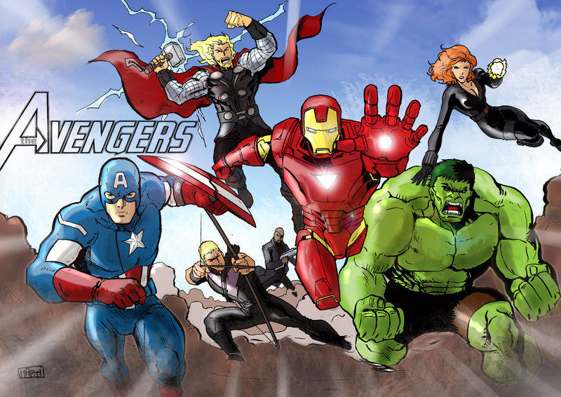 Avengers By Marti Comixheroes