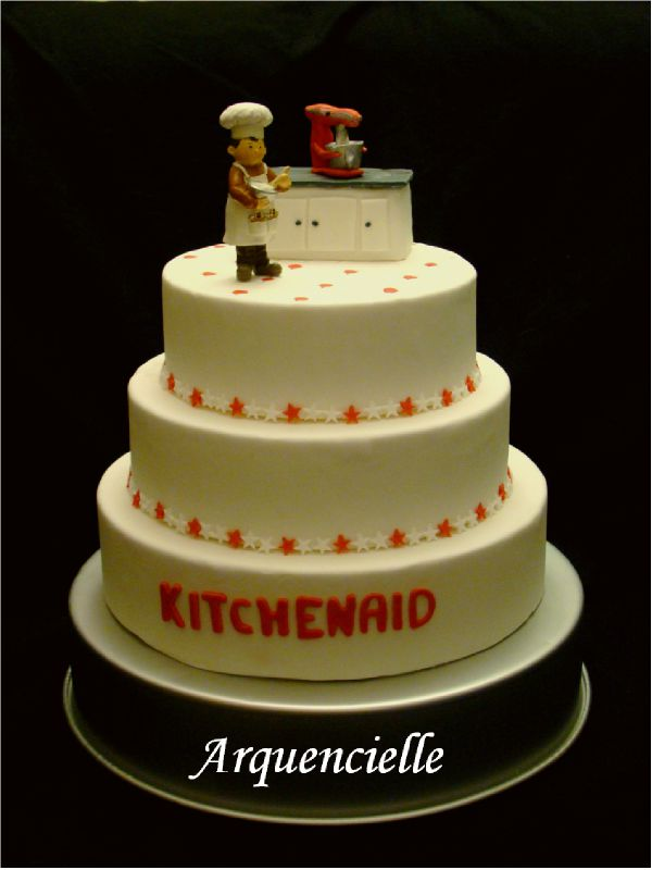 Gâteau factice KitchenAid