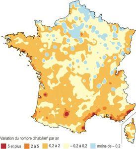 densification des espaces français