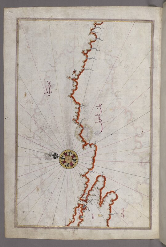 AAM Pearls on a String Map of the Coast of the Black Sea EX2016