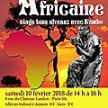 Danse africaine au château-landon - nouveaux tarifs