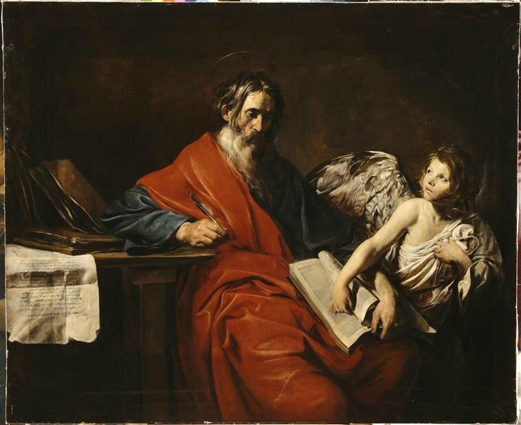 Saint Mathieu, l'Evangéliste