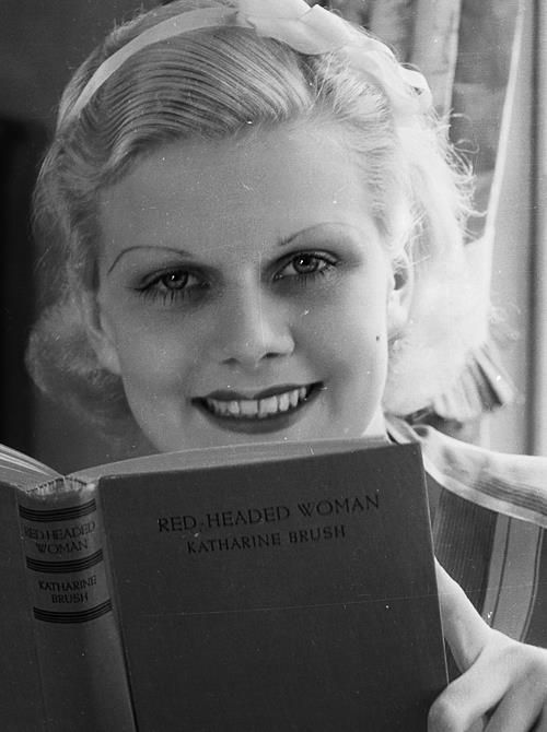 jean harlow read headed woman