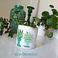 petit pot à succulente 3 green attitude - création ©Marimerveille