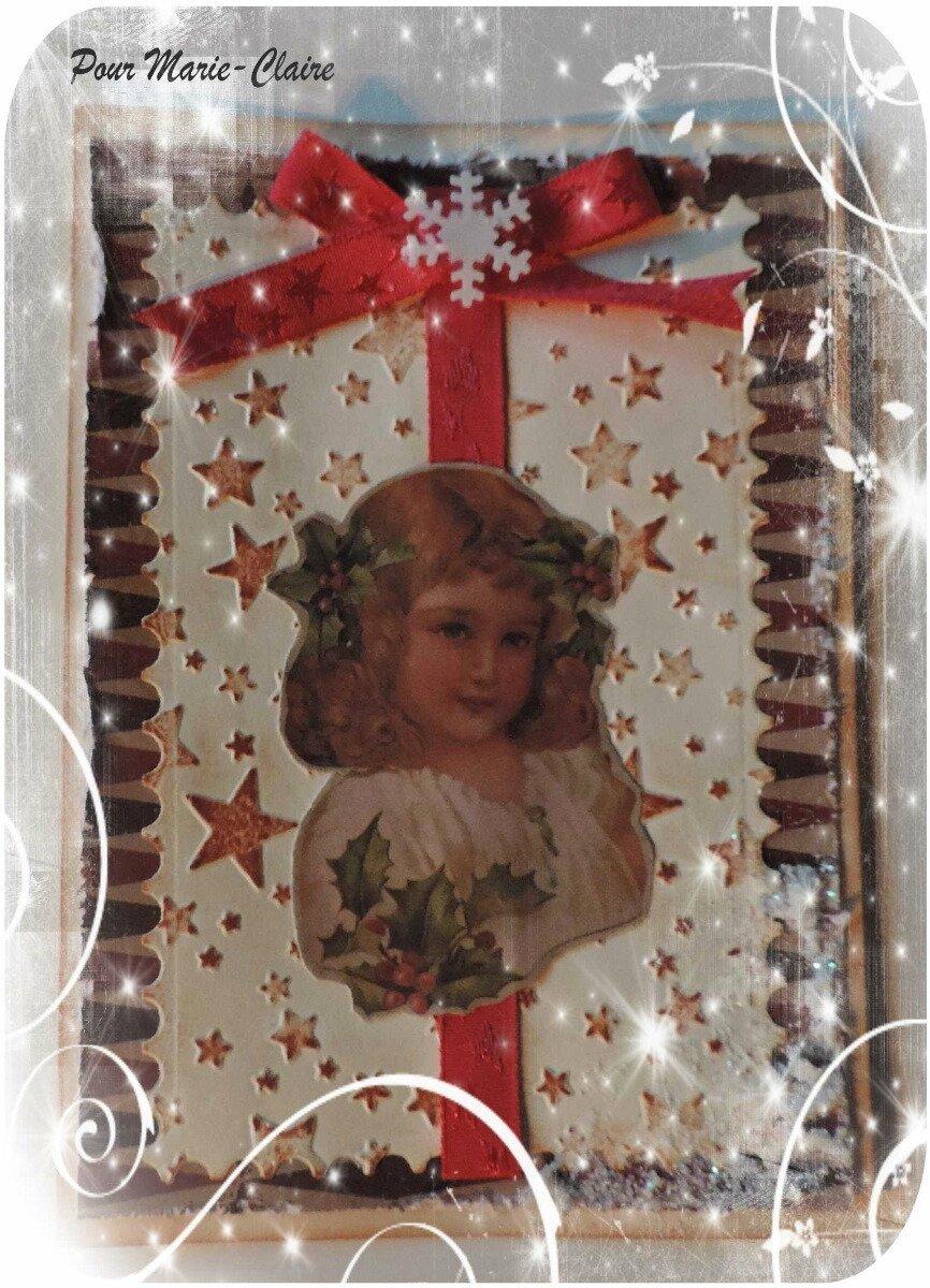 Pour Marie-Claire * Noël 2016