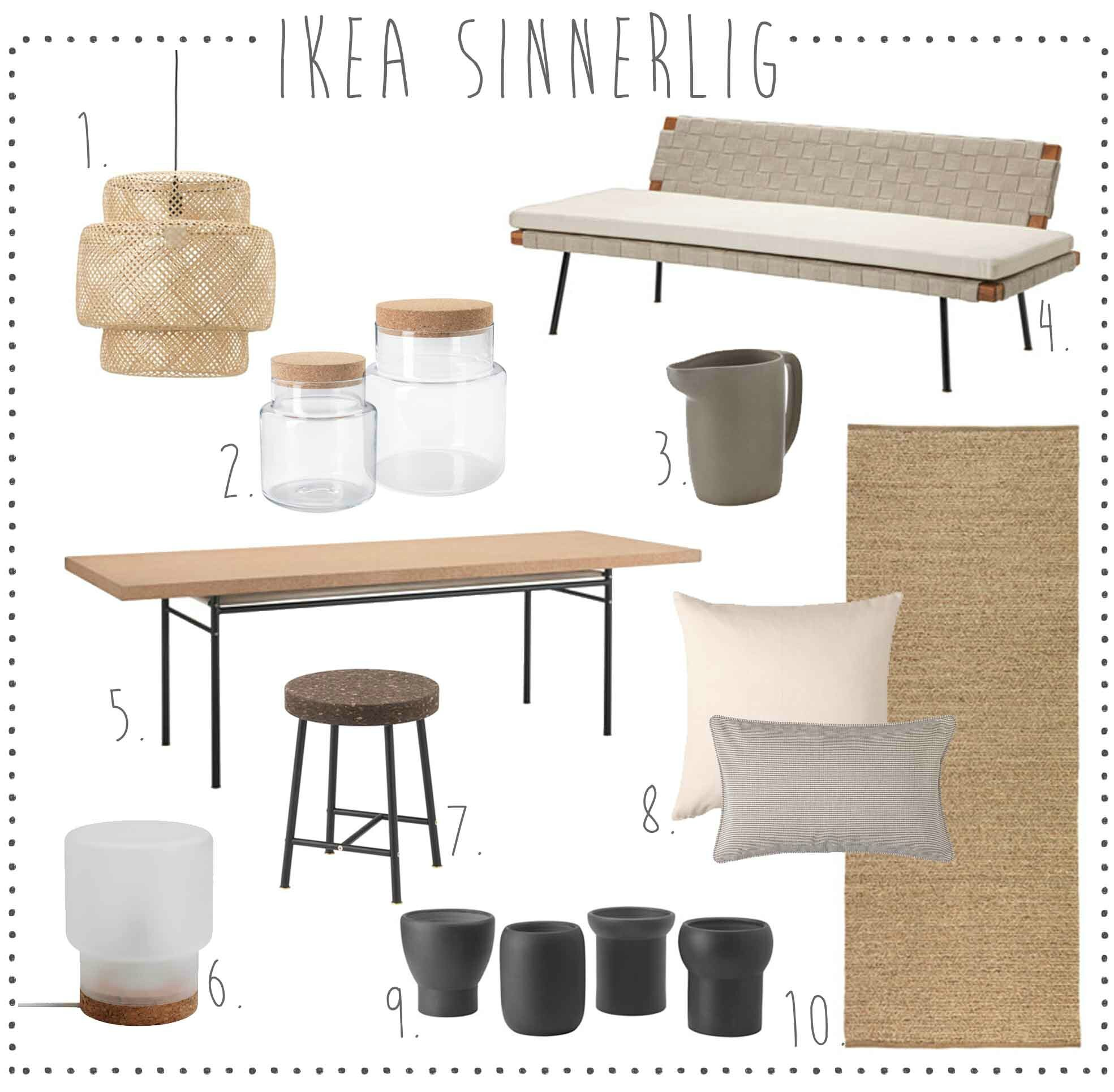 Nouvelle Collection Sinnerlig Pour Ikea Deco Trendy