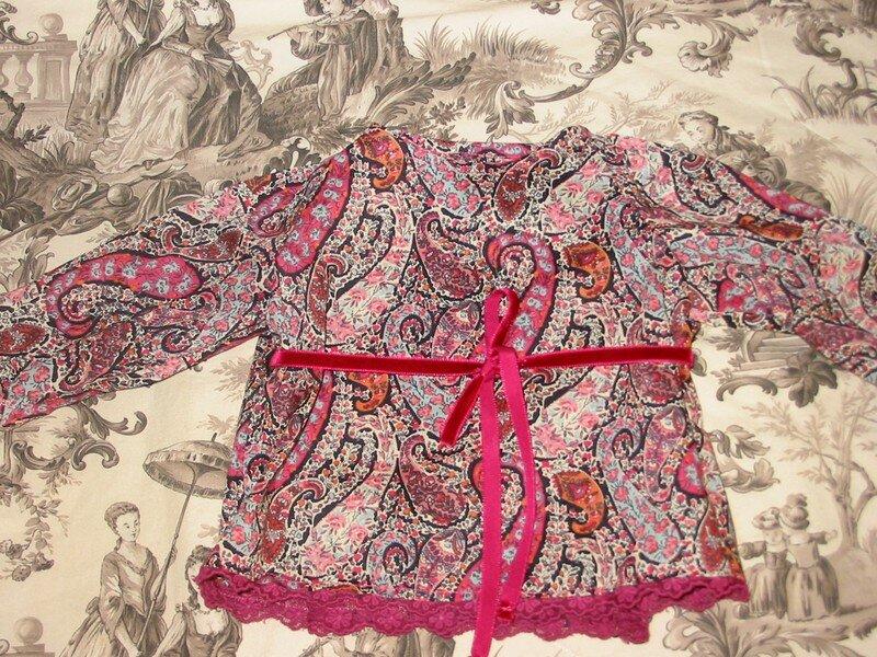 le cache-coeur de Prune, liberty bourton rose
