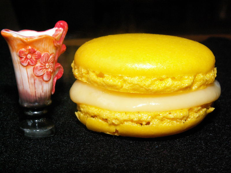 macaron bergamote