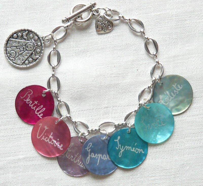 dc4431ca95a2b Tarif des bijoux personnalisés sur chaîne ou sur lien de coton ...