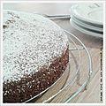 Gâteau au yaourt {sans gluten}