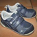 Sandales et baskets solides sans cuir