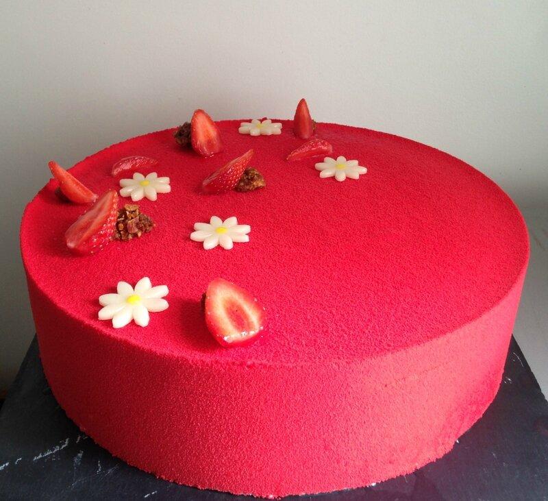 entremet fraise et amandes (38)
