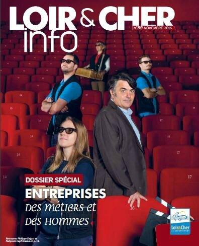 Loir & Cher le mag pdf couverture