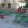 Avenue fontaine-argent....le feuilleton des travaux continue....