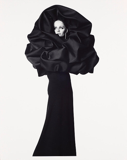 Irving Penn (American, 1917–2009), Balenciaga Rose Dress, Paris, 1967, printed May 2002