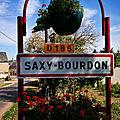 Saxy-Bourdon, panneau (58)