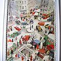 Affiche scolaire Bourrelier - Années 50