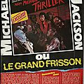 Michael jackson, le grand frisson - podium, 1984