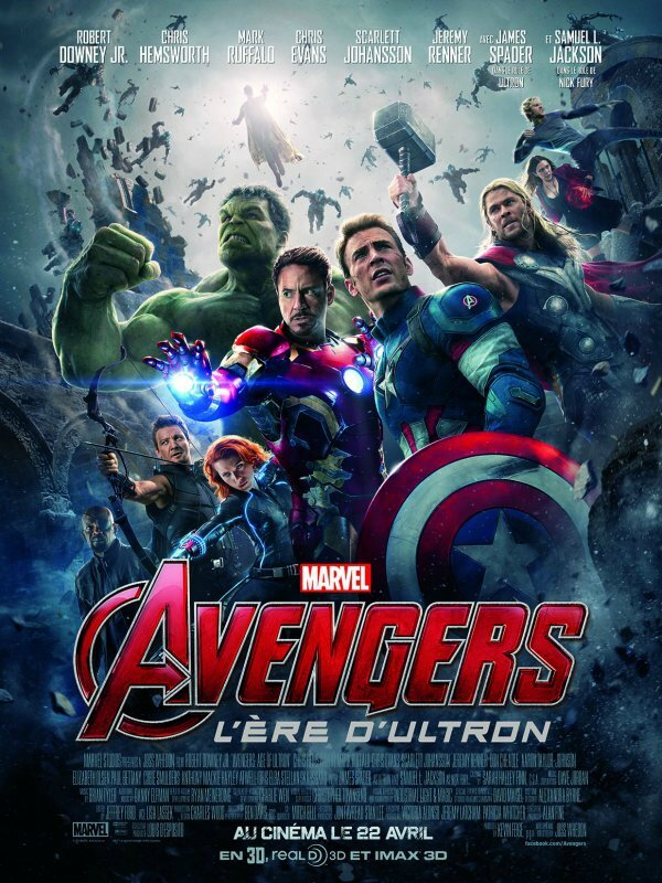 The avengers : Age of Ultron de Robert Joss Whedon