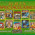 La compilation 10 jeux spectaculaires est loin