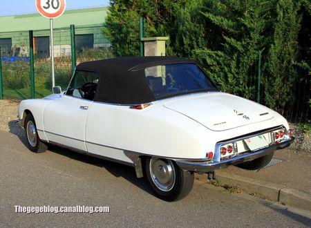 Citroen DS23 pallas cabriolet (30 ème Bourse d'échanges de Lipsheim) 02