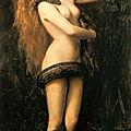 La tentation du « péché », allégorie