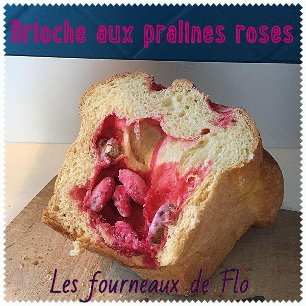 Brioche aux pralines roses (montage)