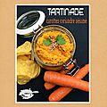 Tartinade carottes sésame coriandre