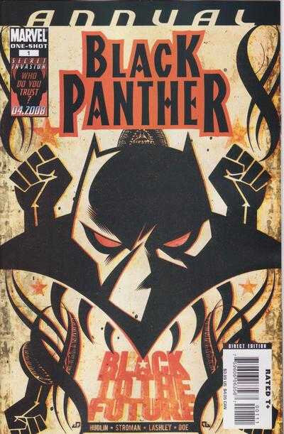 black panther annual 01 2008