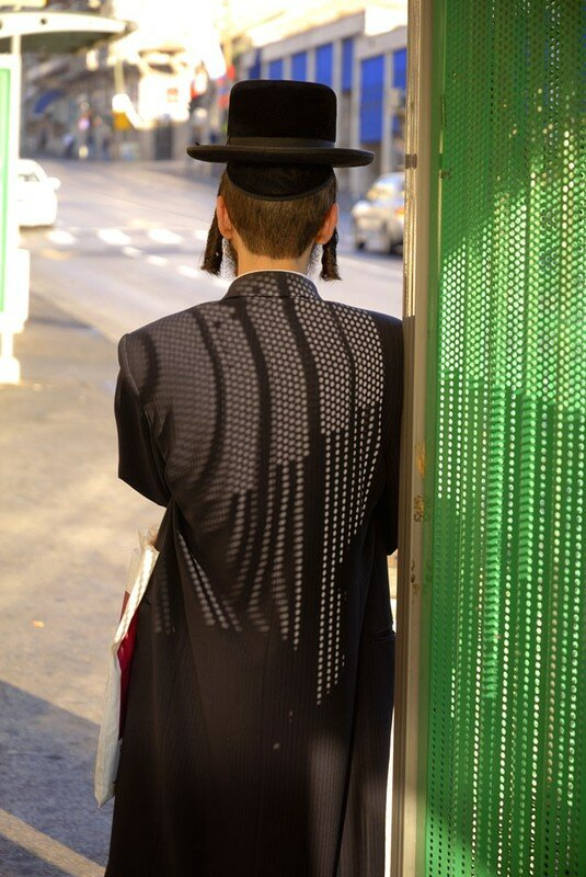 15_Arrêt d'autobus à Jérusalem.