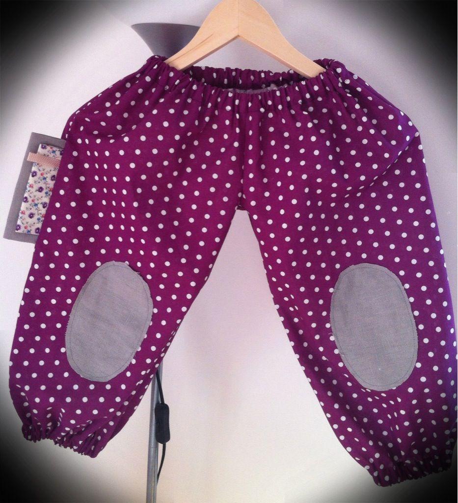 Pantalon assorti... Ou comment j'ai fait un joli déguisement